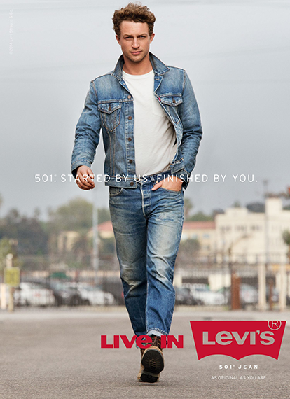 Shoot Levis collectie!